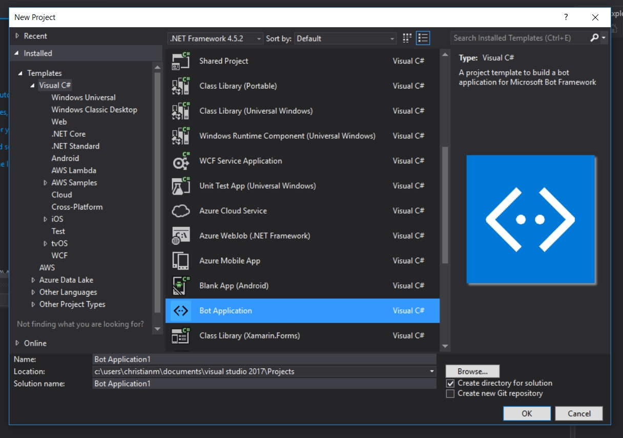 Visual Studio Template